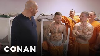 Jeff Ross On Roasting Prison Inmates  - CONAN on TBS