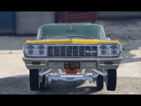 Epic Lowrider Car Show GTA V