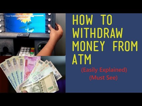 How to withdraw money from atm EASILY EXPLAINED | Atm withdrawal | SBI | BOD | AXIS BANK | HDFC