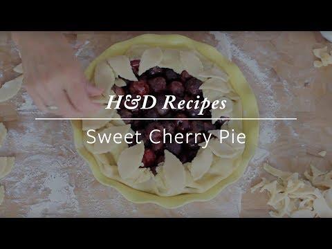 A Sweet Cherry Pie Recipe