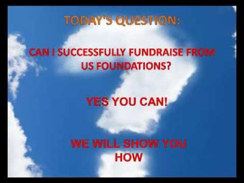 How to raise Funds from US Foundations