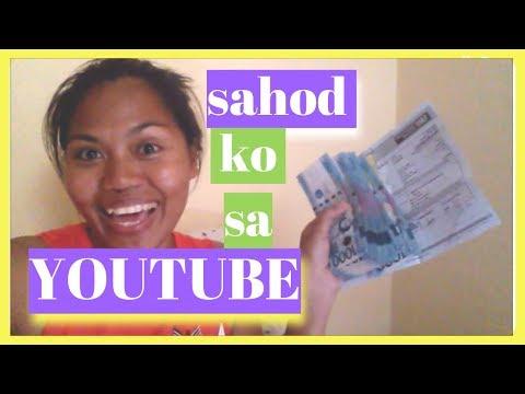 MAGKANO SAHOD SA YOUTUBE Earning MONEY ON YOUTUBE -  Helmz Jordan