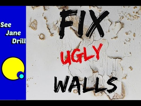 How to Laminate Drywall to Fix Ugly Walls