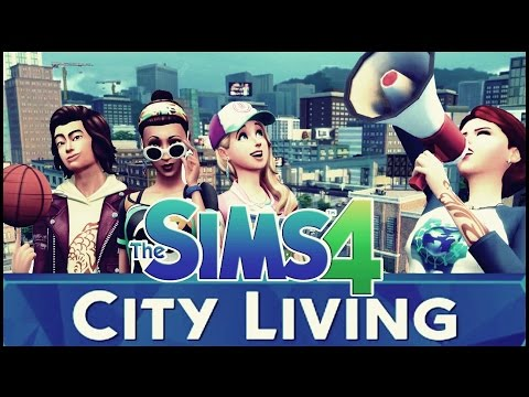 How To Download The Sims 4 City Living for free on PC 2017
