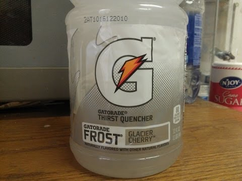 Gatorade Glacier Cherry Review