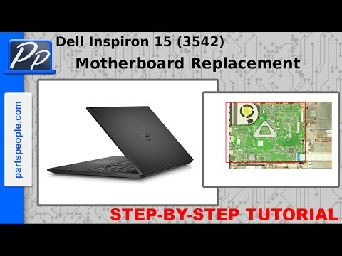 Dell Inspiron 15 (3542 / 3543) Motherboard Video Tutorial Teardown