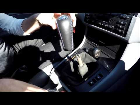 BMW Shift Knob Replacement / Upgrade 3 series E46 330i ZHP