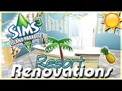 Island Paradise: Resort Renovations!