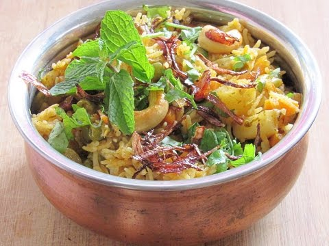 Vegetable Biriyani In Pressure Cooker - How To Make Veg Biriyani In Pressure Cooker | Nisa Homey