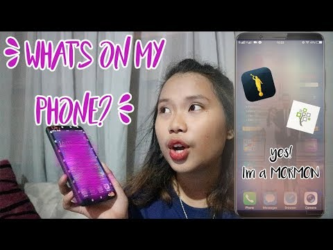 What's On My Phone? (Philippines) | I'M A MORMON