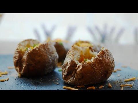 How to Make The Perfect Baked Potato   Vegetarian Recipes   Allrecipes.com