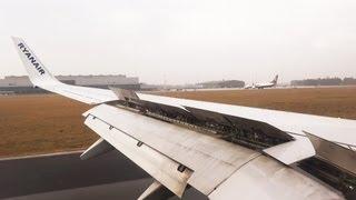 Ryanair Boeing 737 EI-DYO STN-NRN Landing at Düsseldorf Weeze Airport Niederrhein  FR3252 [1080p HD]