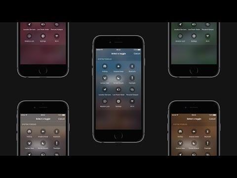 iOS 10 Concept - Advanced Control Center