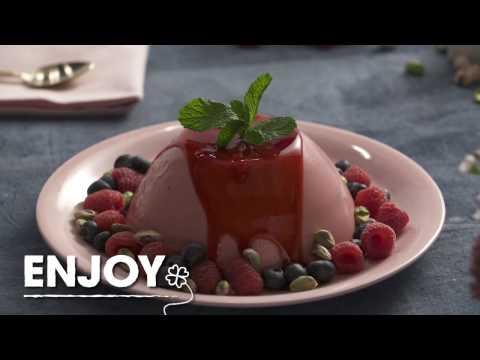 HSN | Good Food Fast: Raspberry Yogurt Panna Cotta
