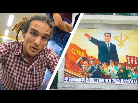 I'M ACTUALLY VLOGGING THIS! - North Korea Day 1