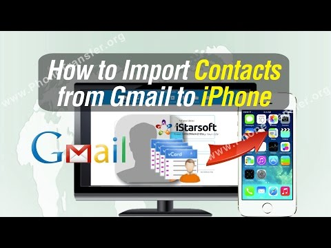 How to Import Contacts from Gmail to iPhone X/8/7 Plus/7/6S/6/SE/5S/5C/5