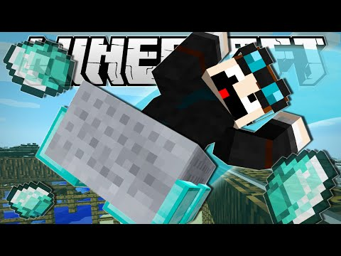 Minecraft | DIAMOND MINECART INFINITE ROLLERCOASTER!! | Custom Command