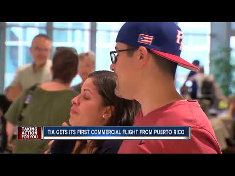San Juan flight lands in Puerto Rico