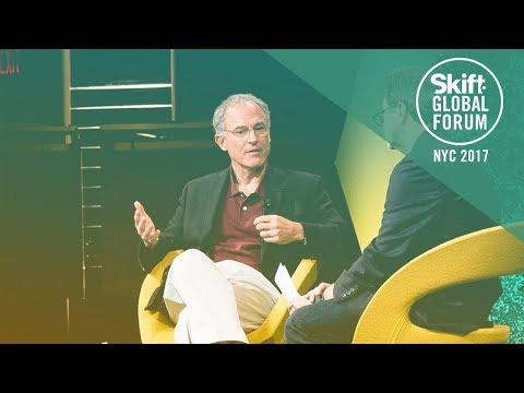 TripAdvisor CEO Stephen Kaufer at Skift Global Forum 2017