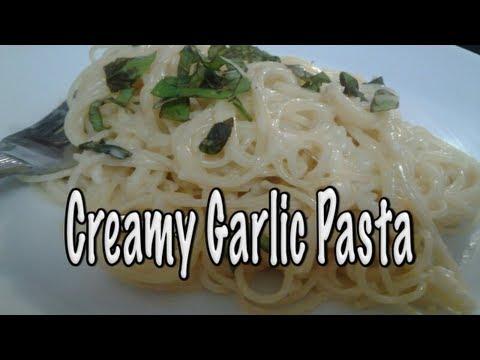 Creamy Garlic Pasta ~ Easy, Fast and Delicious!