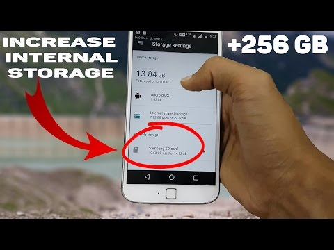 How to increase your Phones Internal Storage upto 256 GB in just 2 minutes ! 2017 ✔