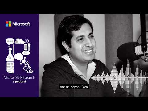 Machine learning and the incredible flying robot with Dr. Ashish Kapoor