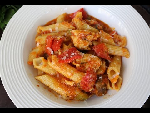 One Pan Baked Delicious Chicken Pasta