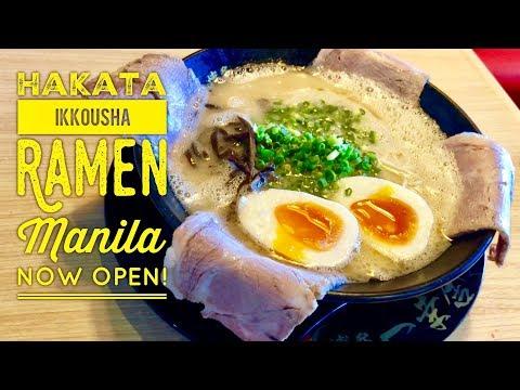 Hakata Ikkousha Ramen Manila Now Open! Festival Mall Filinvest City Alabang
