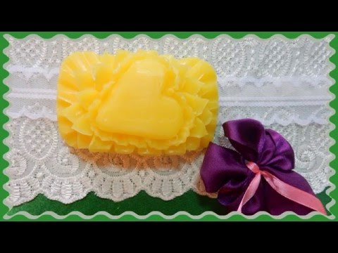 How to Make Carving Soap   handmade การแกะสลักผลไม้
