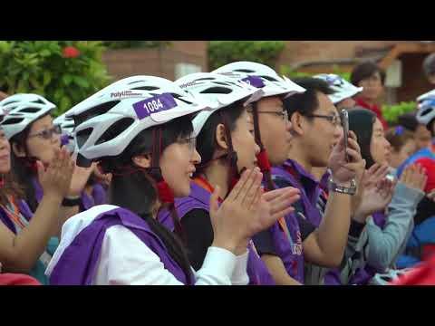 8 x 80 Cycling @ PolyU 80th Anniversary Open Day: Closing