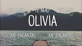 One Direction - Olivia | Traducción al español