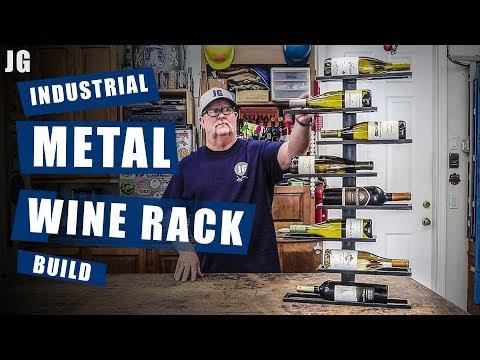 Metal Wine Rack Build | JIMBO'S GARAGE