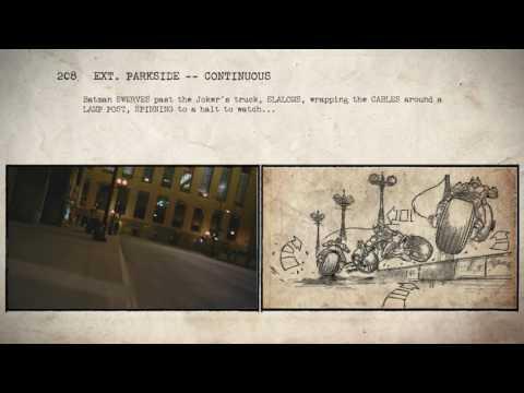 Batman: The Dark Knight - Storyboard to Film Comparison