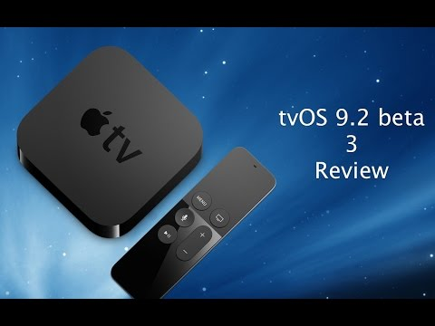tvOS 9.2 Beta 3 New Features - iPhone Hacks