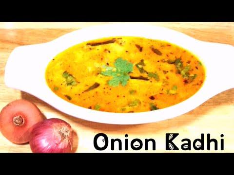 Onion Kadhi Recipe / Punjabi Kadhi/ Indian Pyaz ki Kadhi/ Onion Curry by Sharda Cook