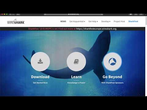 How to install Wireshark on Mac OS