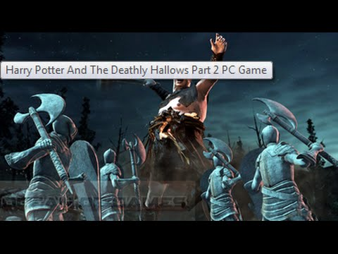 How to download Harry Potter Deathly Hallows Part 2 game for pc