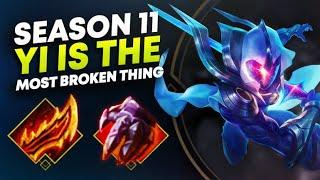 SEASON 11 MASTER YI NEEDS TO BE HOTFIXED! | League of Legends