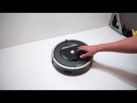 iRobot Roomba 870 Vacuum Cleaning Robot Demo