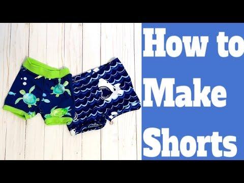 HOW TO MAKE CHILDREN'S SHORTS