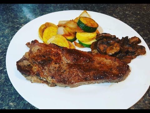 Oven Cooked NY Strip Steak Recipe - How To Cook Steak In The Oven