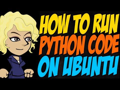 How to Run Python Code on Ubuntu