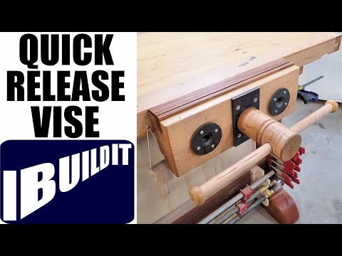 How To Make A Woodworking Vise / Quick Release