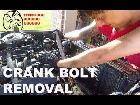 HOW TO Remove BMW E38/E39 Crank Bolt