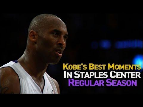 Kobe Bryant's Best Regular Season Moments In Staples Center