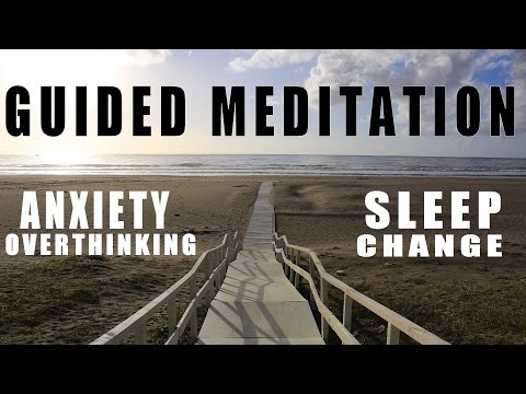 Guided Meditation For New Change, Worry, Anxiety And Sleep : A healing hypnotic journey