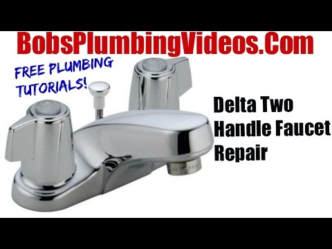 How To Replace Delta Style Stems and Seats - Cartridge Faucet Repair