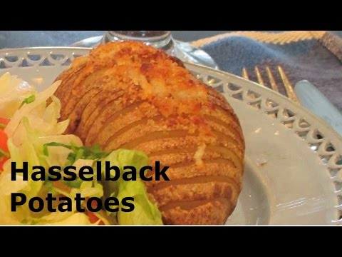 How to Make Hasselback Potatoes A Swedish Potato Side Dish Recipe Hasselbackspotatis är en klassiker