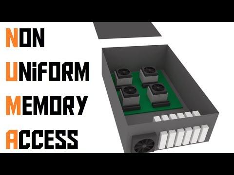 What is Non Uniform Memory Access? (AKIO TV)