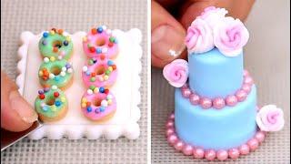 Amazing Miniature Cakes \u0026 Food  COMPILATION! ミニチュア工芸